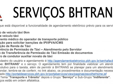 SINCAVIR INFORMA- SERVIÇOS BHTRANS